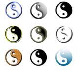 bouton yin yang