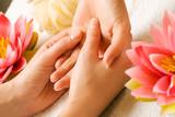 Fototapety Handmassage