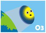 Ozone hole poster