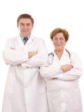 Medical staff poster