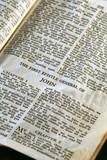 gospel according to the general epistle of john poster