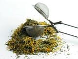 herbal mixture for herb tea poster