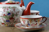 porcelaine chinoise poster