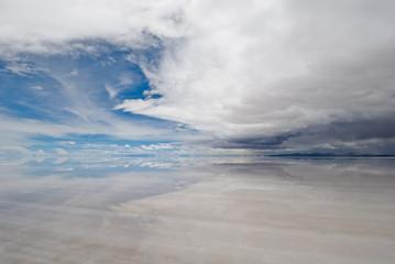 salar de uyuni, salt lake in bolivia.