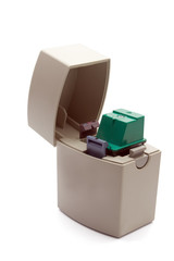Container for  print cartridge