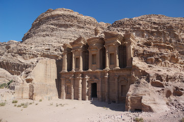 Petra in Jordan - the monastery