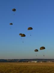 Séance de parachutisme
