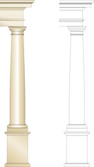 colonna toscanica