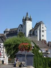 Diez - Schloss und Lahnbrücke
