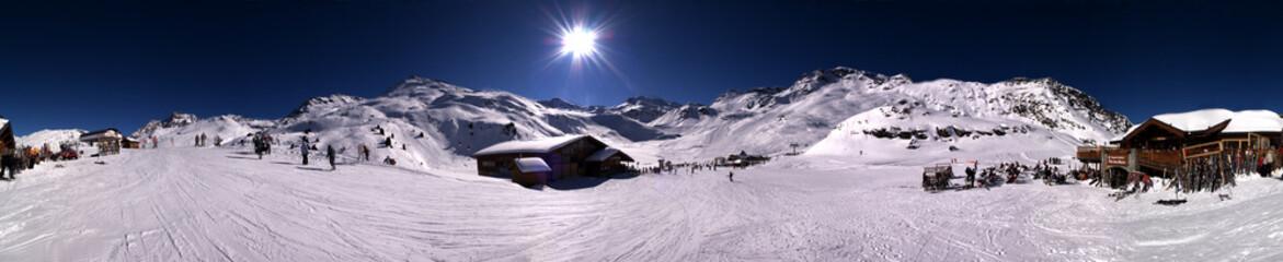 méribel, Alpes, France.