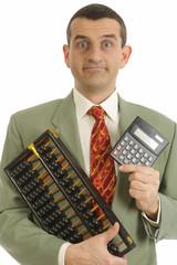 Comptable avec calculette