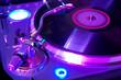 Leinwanddruck Bild - The musical equipment