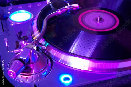Leinwanddruck Bild The musical equipment