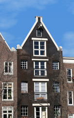 Historical houses in the Netherlands (Amsterdam)