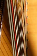 harpe (détail)
