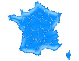 Carte France Océan