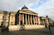 London National Gallery on Trafalgar Square