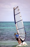 Weekend Sailboarder poster