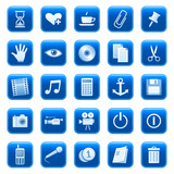 Fototapety Web icons, buttons 3