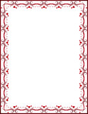 red certificate background, vector poster