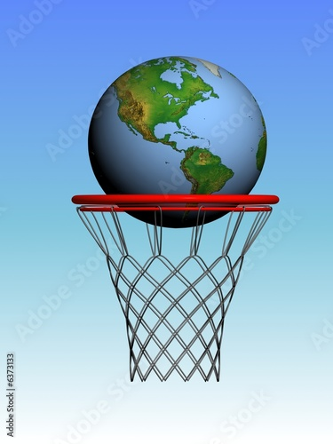 world in the basket