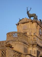 Szczegółowe wejście Anet Zamek Diane de Poitiers jelenia