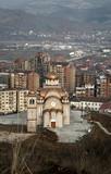 Orthodox church in Kosovo poster