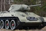 Soviet WWII tank poster