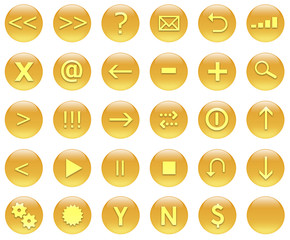 Icons for web actions in a shiny fun way. Inspired by web 2.0