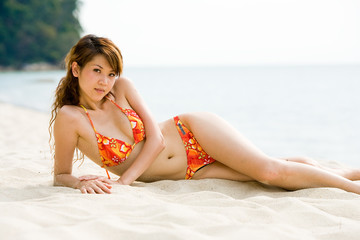 bikini asian beauty