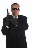 A hit man ready to find his target. poster