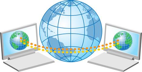 laptop computers illustration