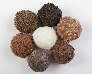 Various types of Chocolate truffles for any taste