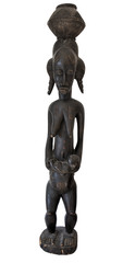 African statue - Mother and child