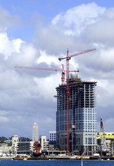 High-Rise Under Construction
