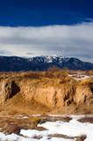 Winter among the southern Colorado high desert  poster