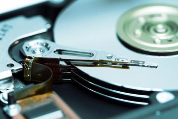 Hard drive internal mechanism