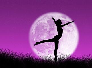 Danza nella luna