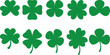 Shamrocks - vector - 6408119