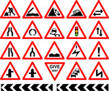 Fototapety Traffic signs
