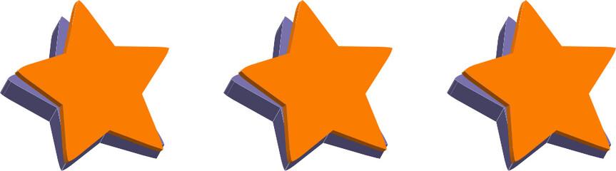 stelle arancioni