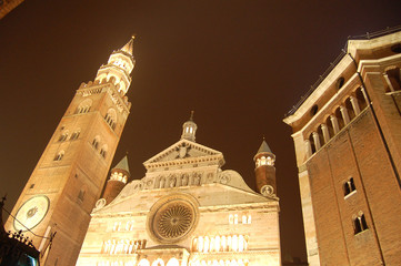 "Italy,Cremona""s chatedral,night"