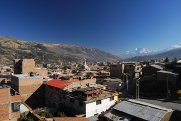 View of Huaraz