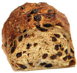 Cut Raisin Bread