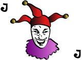 joker playing card poster