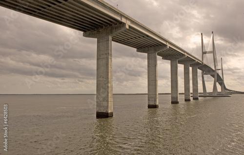 Grey Bridge and Water