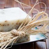 Fototapety Natural lavender soap