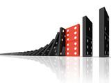 Fototapety domino effect