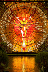 Cosmovitral Botanical Garden Toluca Mexico stained glass