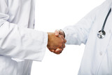 Fototapety healthcare and medicine: doctors shaking hands